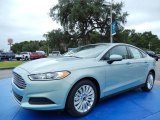 2014 Ice Storm Ford Fusion Hybrid S #86892178
