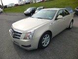 2009 Cadillac CTS 4 AWD Sedan Front 3/4 View