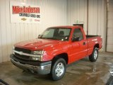 2004 Victory Red Chevrolet Silverado 1500 LS Regular Cab 4x4 #86892713