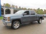 2014 Blue Granite Metallic Chevrolet Silverado 1500 LT Crew Cab 4x4 #86892161