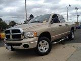 2005 Light Almond Pearl Dodge Ram 1500 SLT Quad Cab 4x4 #86892253