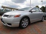 2007 Alabaster Silver Metallic Honda Civic LX Coupe #86892615