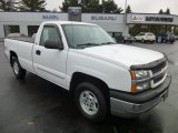 2004 Summit White Chevrolet Silverado 1500 LS Regular Cab 4x4 #86892706