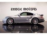 2007 GT Silver Metallic Porsche 911 Turbo Coupe #86892701