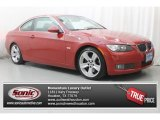 2007 Crimson Red BMW 3 Series 335i Coupe #86892417