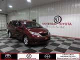 2011 Salsa Red Pearl Toyota Sienna LE #86892140
