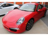 2013 Porsche 911 Guards Red