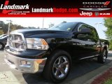 2012 Black Dodge Ram 1500 Big Horn Crew Cab #86892293
