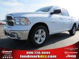 2014 Bright White Ram 1500 Big Horn Crew Cab #86892284