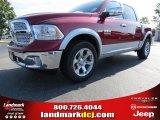 2014 Deep Cherry Red Crystal Pearl Ram 1500 Laramie Crew Cab #86892282