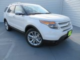 2014 White Platinum Ford Explorer Limited #86892395