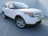 2014 White Platinum Ford Explorer Limited #86892395
