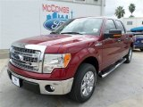 2013 Ruby Red Metallic Ford F150 XLT SuperCrew #86892123