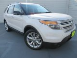 2014 White Platinum Ford Explorer XLT #86892394