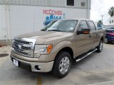 2013 Pale Adobe Metallic Ford F150 XLT SuperCrew #86892118