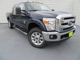 2014 Blue Jeans Metallic Ford F250 Super Duty Lariat Crew Cab 4x4 #86892391