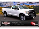 2014 Super White Toyota Tundra SR Regular Cab 4x4 #86892022