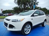 2014 White Platinum Ford Escape Titanium 2.0L EcoBoost #86892188