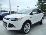 2014 White Platinum Ford Escape Titanium 2.0L EcoBoost #86892187