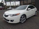 2010 Premium White Pearl Acura TSX V6 Sedan #86892375