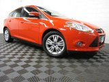 2012 Race Red Ford Focus SEL 5-Door #86892475