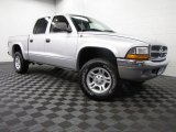 2003 Bright Silver Metallic Dodge Dakota SLT Quad Cab 4x4 #86892461