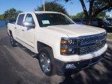 2014 White Diamond Tricoat Chevrolet Silverado 1500 LTZ Crew Cab 4x4 #86937948