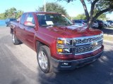 2014 Deep Ruby Metallic Chevrolet Silverado 1500 LT Double Cab #86937946