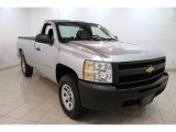2012 Silver Ice Metallic Chevrolet Silverado 1500 Work Truck Regular Cab 4x4 #86937774