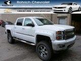 2014 Summit White Chevrolet Silverado 1500 LT Crew Cab 4x4 #86937838