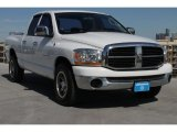 2006 Bright White Dodge Ram 1500 SLT Quad Cab #86937837