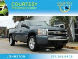 2007 Blue Granite Metallic Chevrolet Silverado 1500 LT Crew Cab #86937431