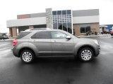 2010 Mocha Steel Metallic Chevrolet Equinox LTZ #86937823