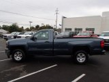 2014 Blue Granite Metallic Chevrolet Silverado 1500 LT Regular Cab 4x4 #86937886