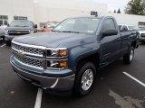 2014 Chevrolet Silverado 1500 Blue Granite Metallic