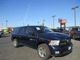 2012 Midnight Blue Pearl Dodge Ram 1500 Sport Crew Cab 4x4 #86937743