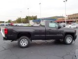2014 Tungsten Metallic Chevrolet Silverado 1500 WT Regular Cab 4x4 #86937484
