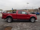 2013 Ruby Red Metallic Ford F150 FX4 SuperCab 4x4 #86937474