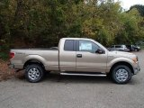 2013 Pale Adobe Metallic Ford F150 XLT SuperCab 4x4 #86937471