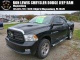 2012 Black Dodge Ram 1500 Sport Crew Cab 4x4 #86937574