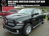 2014 Black Ram 1500 Sport Crew Cab 4x4 #86937566