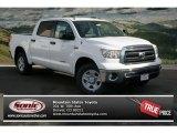 2013 Super White Toyota Tundra CrewMax 4x4 #86937326