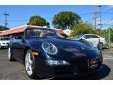 2008 Midnight Blue Metallic Porsche 911 Carrera Cabriolet #86980718