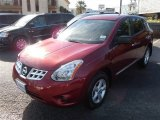2012 Cayenne Red Nissan Rogue S #86980623
