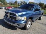 2002 Atlantic Blue Pearl Dodge Ram 1500 SLT Quad Cab 4x4 #86980784