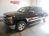 2014 Black Chevrolet Silverado 1500 LTZ Crew Cab 4x4 #86981157