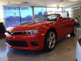 2014 Red Hot Chevrolet Camaro SS/RS Convertible #86980695