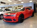 2014 Red Hot Chevrolet Camaro SS/RS Coupe #86980692