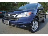 2010 Royal Blue Pearl Honda CR-V LX AWD #86980961