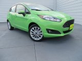 2014 Green Envy Ford Fiesta SE Hatchback #86980840